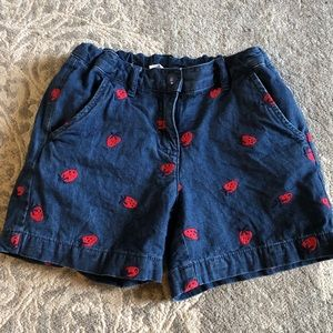 {Hanna Andersson} strawberry shorts